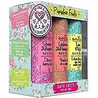 Bella & Bear paradise fruits bath salts set, Multi Colored