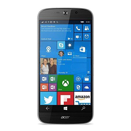 Acer Liquid Jade Primo Black Smartphone 32GB HD GSM 4G LTE Windows 10 Mobile (Certified Refurbished)