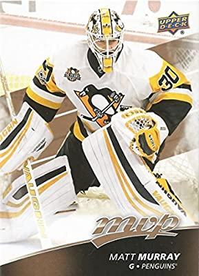 2017-18 Upper Deck MVP #95 Matt Murray Pittsburgh Penguins