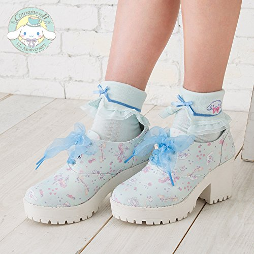 Bat Costume With Umbrella Wings (Sanrio Cinnamoroll 15th adult heel sneakers wings M size From Japan New)