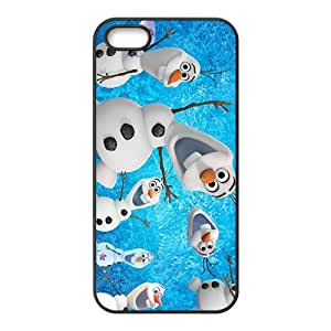 Cute Lovely Olaf Design Best Seller High Quality Phone Case For Iphone 5S