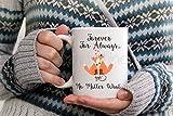 Fox Coffee Mug, Valentine Coffee Mug, Inspirational Fox Mug, Love Quote Coffee Mug, Love Quote Decor, Coffee Lover Gift, Gifts for Her, 11oz, 15oz, gift