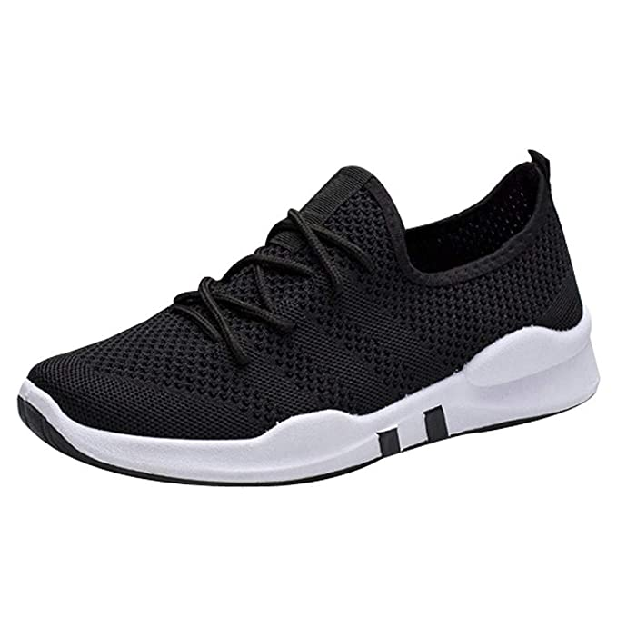 e07955e1822b6 Amazon.com: Sharemen Men Breathable Running Shoes Athletic Low-Top ...
