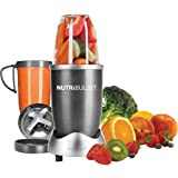 NutriBullet (Gray) Blender/Mixer, 8-piece Set (Certified Refurbished)