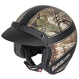Raider Adult Ambush Open Face Helmet (Realtree Xtra, Large)