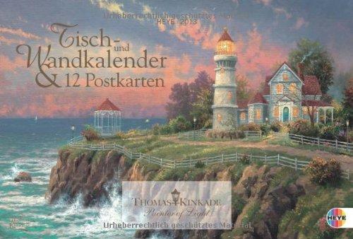 Kinkade Multiplaner 2013: Tisch- und Wandkalender