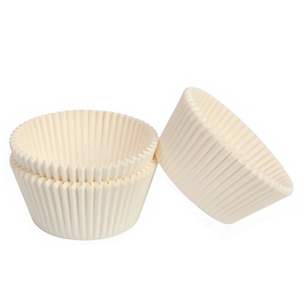 MyLifeUNIT - Revestimiento para magdalenas de papel, tamaño estándar, moldes para hornear magdalenas: Amazon.es: Hogar