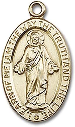 14ktゴールドScapular Medal