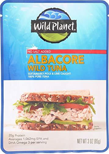 (NOT A CASE) Wild Albacore Tuna No Salt Added