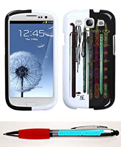 Accessory Factory(TM) Bundle (Phone Case, 2in1 Stylus Point Pen) SAMSUNG Galaxy S III (i747 L710 T999 i535 R530 i9300) Ancient Swords Phone Protector Cover