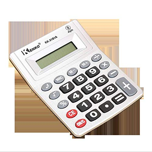 ONECES Handheld Calculator Extra-Compact Basic Office Calculator (Battery Included)