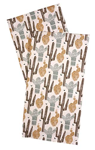 Table Runner Table Linens Cactus Decor Tablecloth Rustic Decor Table Runners Wedding Mexican Party Decorations 90 Inch