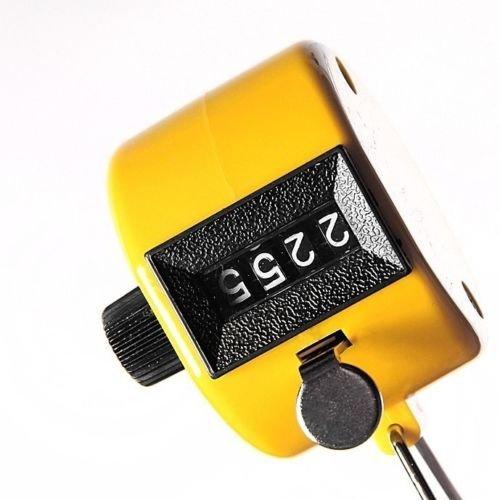 Mechanischer Handzähler Stückzähler Besucher Schritt Mengen Zähler Counter