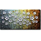 V-inspire Paintings, 24x48 Inch Paintings White