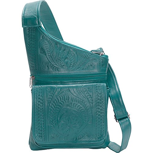ropin-west-crossover-sling-turquoise
