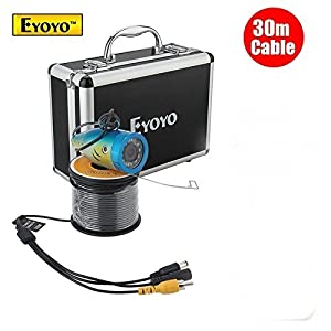 Uphig Eyoyo Wireless 2.4G Wifi Fish Finder Fishing Camera Detect Fishfinder Fish Hunter 30M 98ft For IOS Android