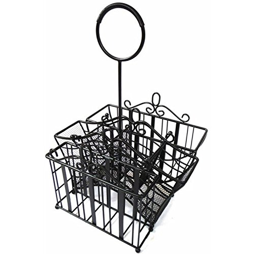 Portable Wrought Iron Utensil (Picnic) Caddy