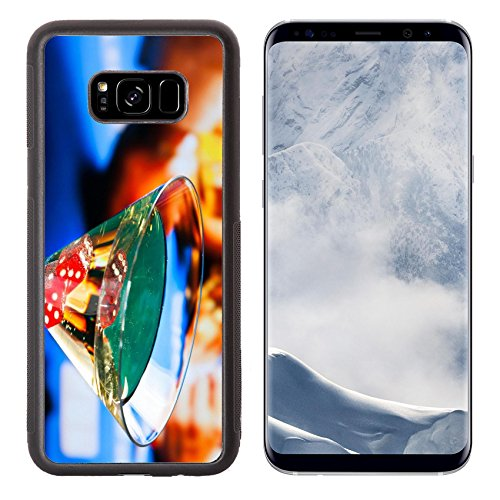 Liili Premium Samsung Galaxy S8 Plus Aluminum Backplate Bumper Snap Case IMAGE ID 32442264 cocktail glass in front of gambling table casino - Glasses With Celeb