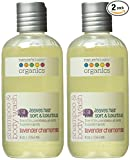 organic baby products - Nature's Baby Organics Shampoo & Body Wash, Lavender Chamomile, 8 oz (2-Pack) Babies, Kids, & Adults! Natural, Moisturizing, Soft, Gentle, Rich, Hypoallergenic | No Chemicals, Parabens, SLS, Glutens