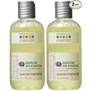 Nature's Baby Organics Shampoo & Body Wash, Lavender Chamomile, 8 oz (2-Pack) Babies, Kids, & Adults! Natural, Moisturizing, Soft, Gentle, Rich, Hypoallergenic | No Chemicals, Parabens, SLS, Glutens