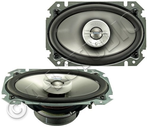 Infinity Reference 6422cf 4-Inch x 6-Inch Two-Way Loudspeaker (Silver/Black)
