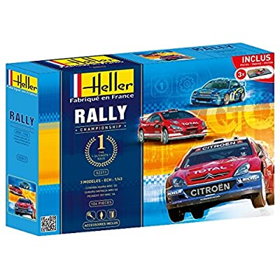 Heller - 52311 - Maquette -Voiture - Rallye Championship - Echelle 1/43