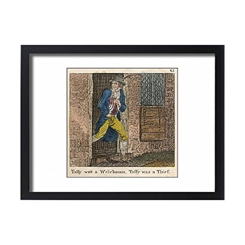 Framed 24X18 Print Of Taffy Was A Welshman (690218)