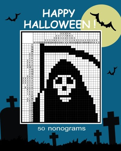 Happy Halloween!  nonograms. (Halloween 2017 Teaser)