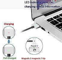 Cargador MacBook Pro, 60W MagSafe 2 Adaptador de Corriente T-Forme ...