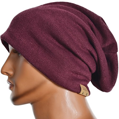 516b2cad8e7 Z s Stylish Men Women Slouch Beanie Basic Skull Cap Designer B010 (Claret)  - Buy Online in Oman.