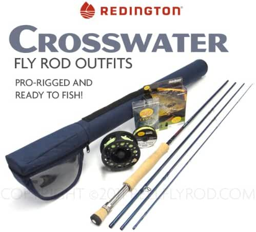 Redington Crosswater 890-4 Fly Rod Outfit (9'0