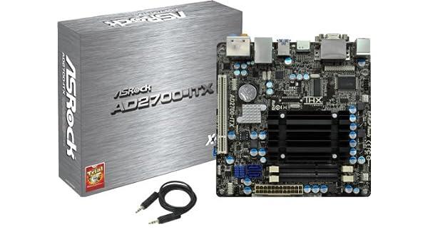 Asrock AD2700-ITX XFast USB Driver for Windows