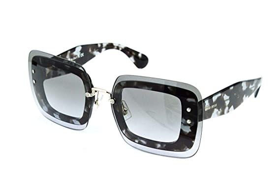 7119eef0825b Image Unavailable. Image not available for. Color  MIU MIU Sunglasses MU  02RS UAH3H0 Lilac Havana 67MM