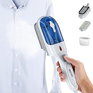 Housmile Garment Steamer 70ml Fast Heat-up Handheld Portable Fabric Clothes Steamer with Brush for Clothes, for Home and Travel