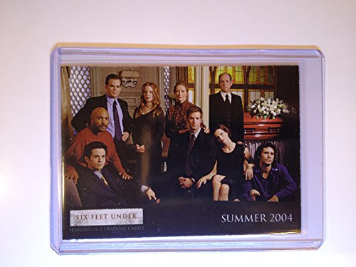 SIX FEET UNDER Seasons 1 and 2 Promo Card P1 2004 (Six Feet Under Season Two compare prices)