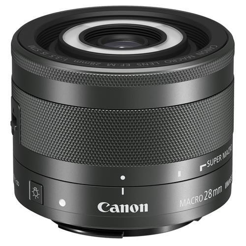 Canon EF-M 28mm f/3.5 Macro IS STM Lens (Eos M Lens)