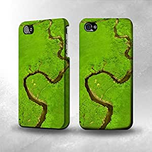 Apple iPhone 5 / 5S Case - The Best 3D Full Wrap iPhone Case - Amazon River