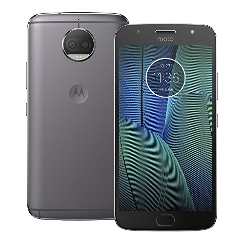 Motorola MOTO G5S Plus XT1805 32GB Dual Sim Factory Unlocked Cell Phone Lunar Gray