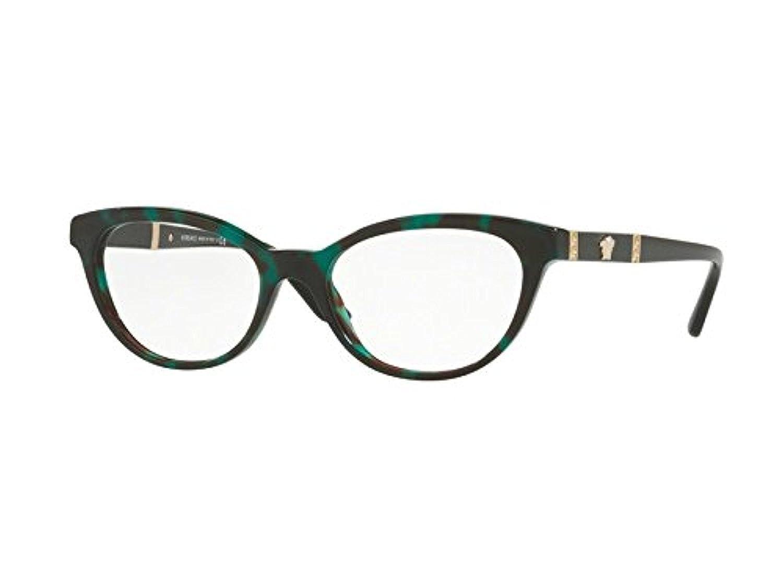 f1e0c723c822 Amazon.com  Versace Women s VE3219Q Eyeglasses 54mm  Clothing