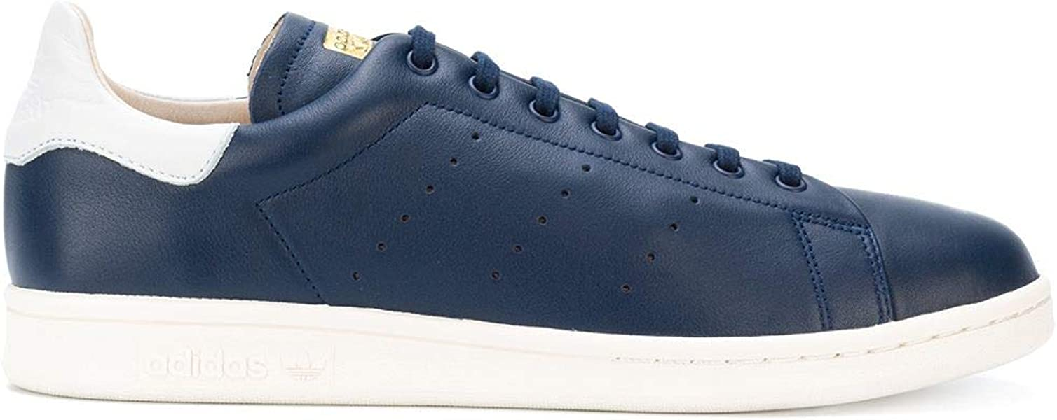 outlet store ff843 16cb8 adidas Originals Men s Stan Smith Recon Shoes CQ3034,Size 8.5 Blue White