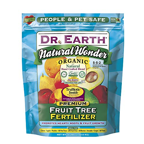 Dr. Earth Natural Wonder Fruit Tree Fertilizer 4 lb