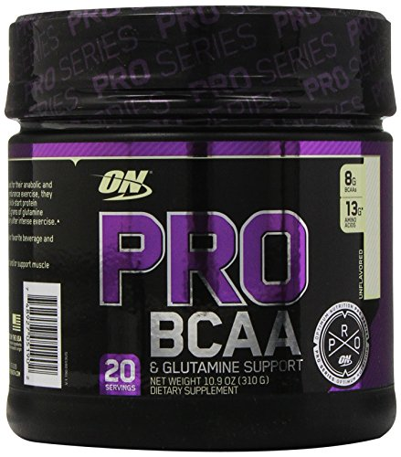 Optimum Nutrition Pro BCAA Drink Mix, Unflavored, 10.9 Ounce