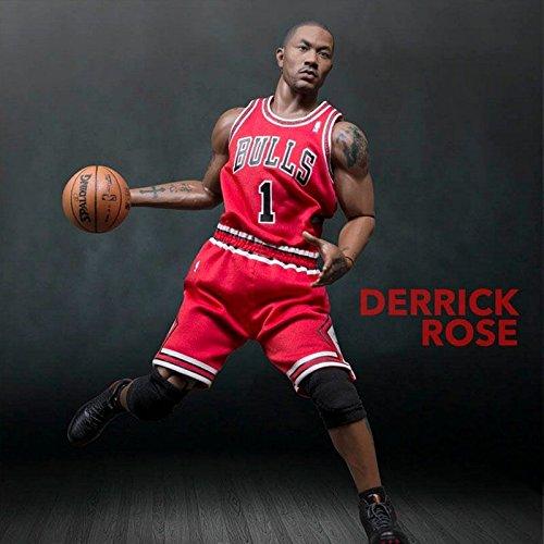 a7f3c7c73da31 Derrick Rose Chicago Bulls 1/6th Scale 12
