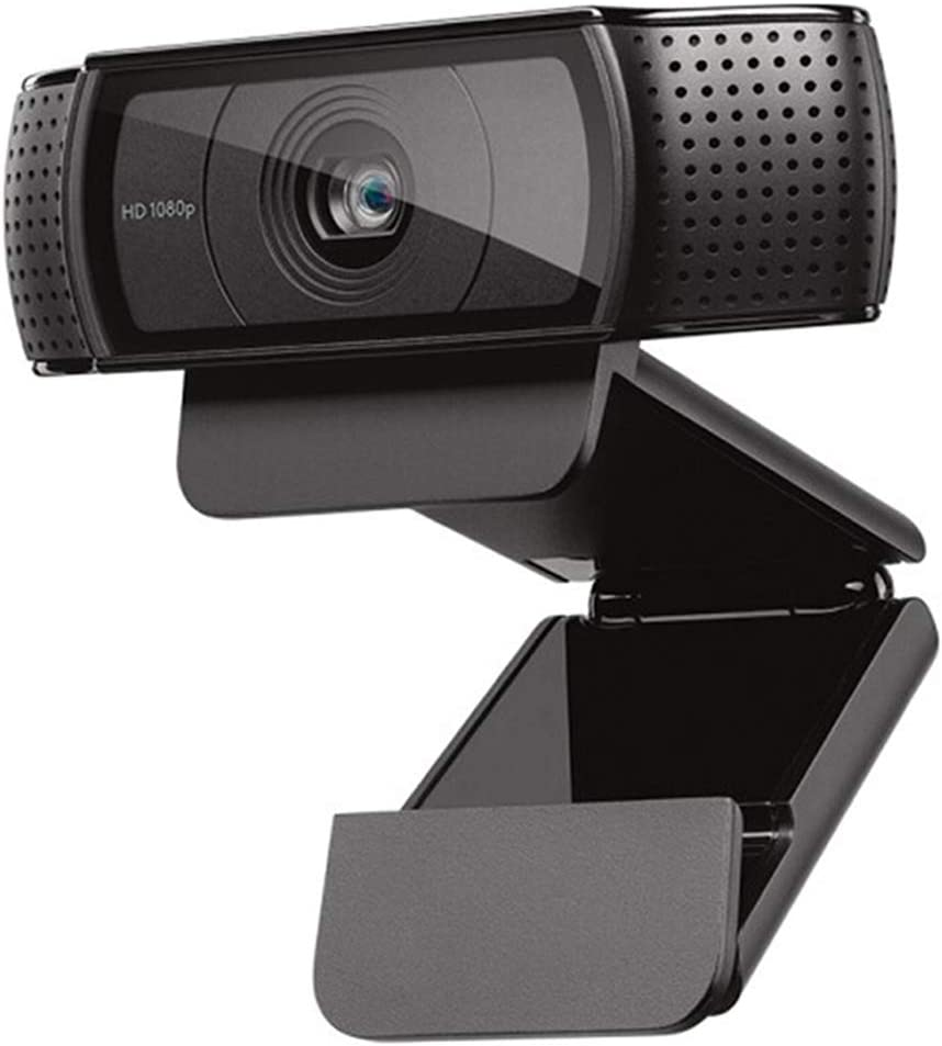 HD Pro Webcam C920, Widescreen Video Calling and Recording, 1080p Camera, Desktop or Laptop Webcam