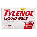 Tylenol 325mg Liquid Gels, 115 Count
