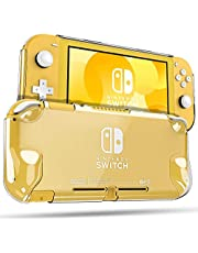 Fintie Case for Nintendo Switch Lite 2019 - [Ultra Clear] Hard Back Cover with Anti-Scratch, Shock-Absorption and Ergonomic Grip Design for Switch Lite Console 2019 Release (Crystal Clear)