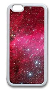 MOKSHOP Adorable Flashing Star 2 Soft Case Protective Shell Cell Phone Cover For Apple Iphone 6 Plus (5.5 Inch) - TPU White