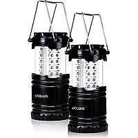 APOLLED Camping Lantern, 30-LED Collapsible Lantern with...