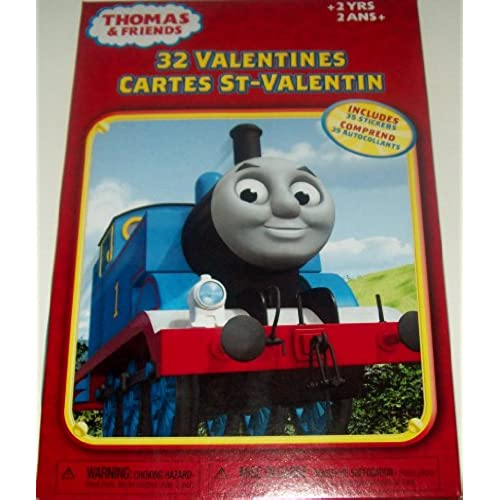 Thomas and Friends 32 Valentines Sales