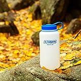 Nalgene HDPE Wide Mouth BPA-Free Water Bottle, 32 oz